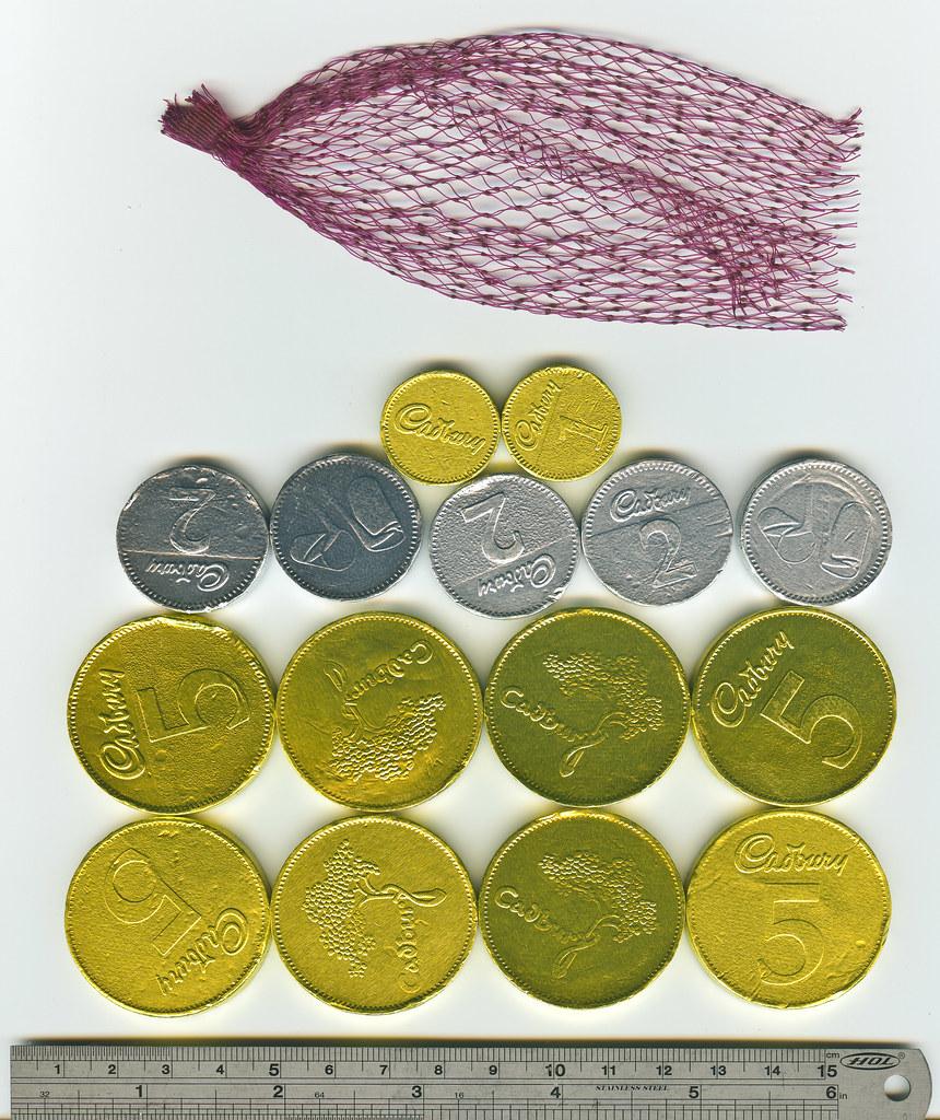 No.20 Cadbury Milk Chocolate Coins.