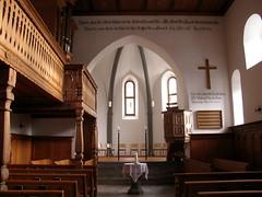 St. Leonhard / Emerita Kirche Trimmis ( Church / Eglise / Chiesa ) in Trimmis im Kanton Graubünden / Grischun in der Schweiz (chrchr_75) Tags: hurni christoph schweiz suisse switzerland svizzera suissa swiss kanton graubünden kantongraubünden grischun rheintal chrchr chrchr75 chrigu chriguhurni burgentour 2009 burgentour2009 albumgraubünden kirche church eglise chiesa chriguhurnibluemailch bezirklandquart trimmis kantongrischun hurni091114 chiuche église temple albumkirchenundkapellenimkantongraubünden