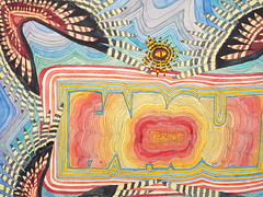 """""""Farout"""" detail 2009 Chobbs (charleswesleyhobbs) Tags: art watercolor charles hobbs"""