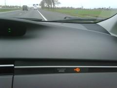 Veilig: De nieuwe #Prius toont te allen tijde of de airbag van de bijrijder aan of uit staat.