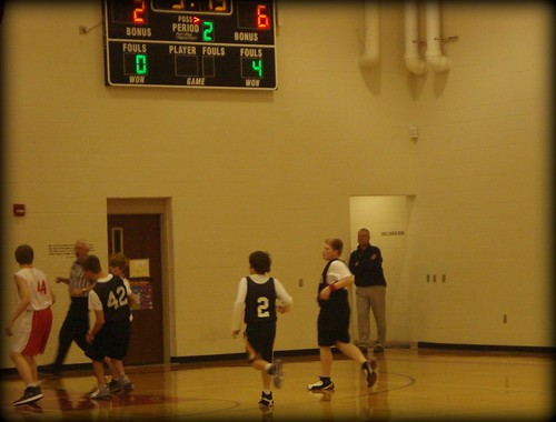 The Boy Basketball Game
