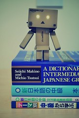 New textbooks~ (peepboon) Tags: japan japanese danbo danboard  japanesestudies
