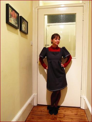 28.11.09: custom made dress