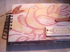Hand Made Garden Journal Grunge Style