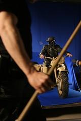 Shooting the biker (ironskyfilm) Tags: makingof teaser ironsky