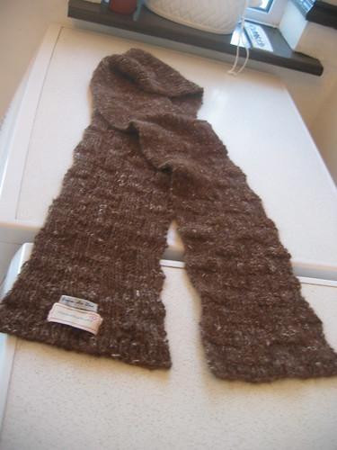 Alpaca silk scarf8