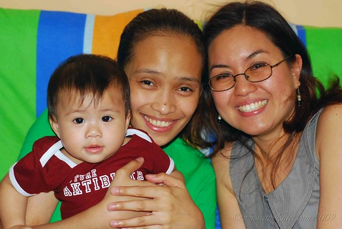 Conts and Lizzie with Lia