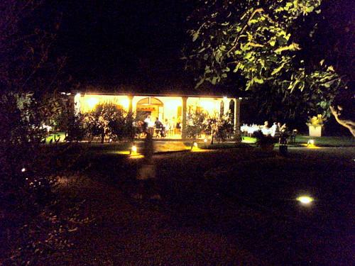 Summer evening at Alla Beccaccia