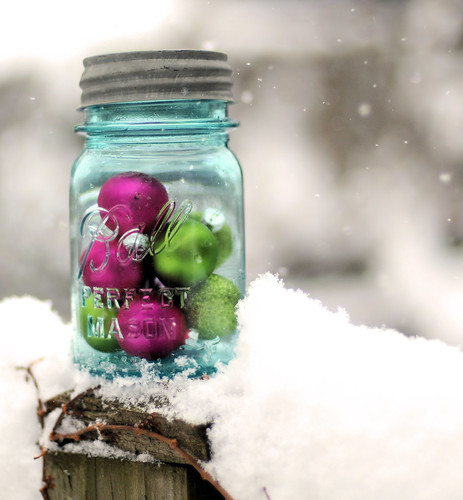 """I wish we could put up some of the Christmas spirit in jars and open a jar of it every month."" ~Harlan Miller"