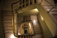 ride the spiral (Daedalus-) Tags: stairs stairwell staircase efs1785mmf456isusm hypnotic