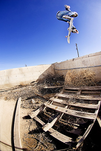 Chris Weigele Switch Backside Flip Tumble weed
