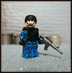 Blue Tiger Camo (Geoshift) Tags: lego military specialforces moc callofduty customlego brickarms modernwarfare legomilitary legocustom legocustomminifig