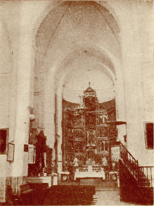Iglesia de Santiago del Arrabal a inicios del siglo XX.