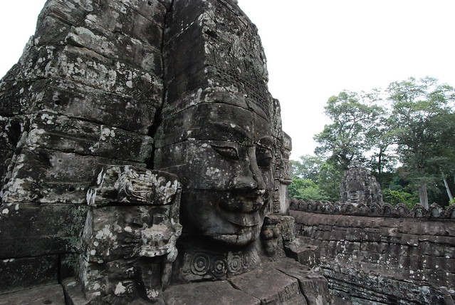 Face of Bayon, Siem Reap, Cambodia