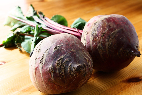 Beets with almonds 6