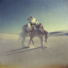 Despair (Ars Antigua) Tags: white sand couple desert dunes nuclear despair apocalyptic mutation fallout idream artlibres lesbrumes