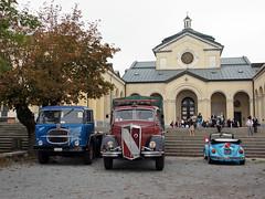 Fiat Lancia & VW (Maurizio Boi) Tags: fiat 682 lancia esatau vw volkswagen maggiolino beetle coccinelle kafer camion autocarro truck lorry car auto voiture coche old oldtimer classic vintage vecchio antique italy