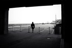 Exit From (Chris Goodacre) Tags: eastcoast hunstanton street chrisg35mm monochrome canoneos550d