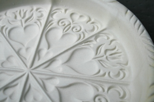 ceramic shortbread mold