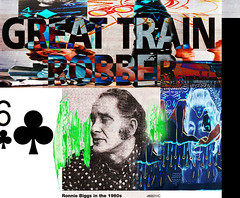 Great Train Robber (dou_ble_you) Tags: icon 1960s bedofnails ronniebiggs worriedaboutcreditcrunchgrabthemoneyfromthebanksandrun greattrainrobber 6ofclubsor4ofdiamonds