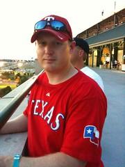 Trey @ Rangers Game