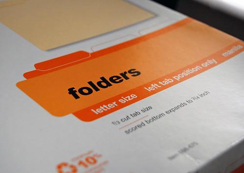 Manila Folders