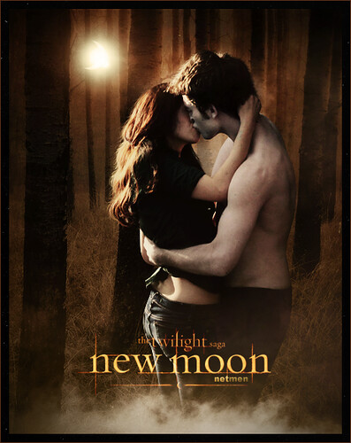 poster of film The Twilight Saga: New Moon