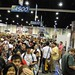 the long line to the Warner Bros booth