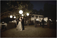 The Stars Under the Lights (Extra Medium) Tags: wedding groom bride marriage husband wife camarillo historicbuilding losangelesweddingphotographer santabarbaraweddingphotographer mccormickranchhouse venturaweddingphotographer malibuweddingphotographer