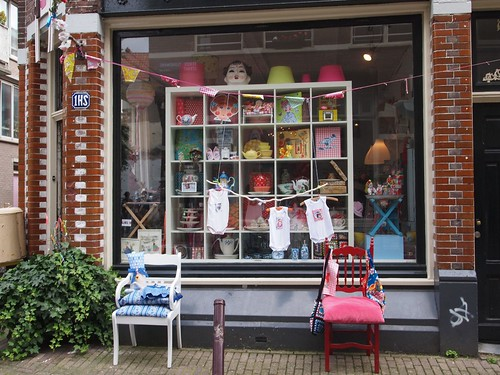 Amsterdam: cute shop