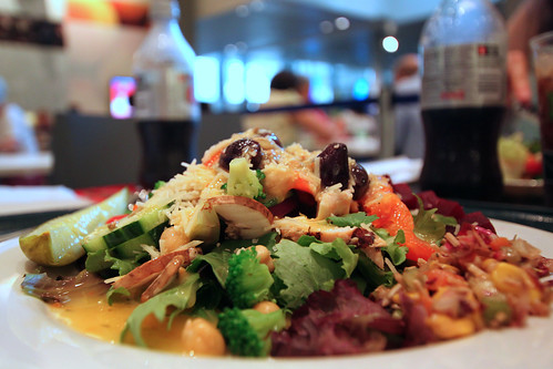 Newseum Cafe Salad