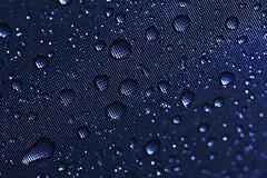Something (Neville_S) Tags: blue light india cold macro wet water rain drops amazing fantastic steel 100mm sharp monsoon canon350d raindrops mumbai something liquid brilliant dropplets canon100mmf28 excapture nevillesukhiaphotography suraface