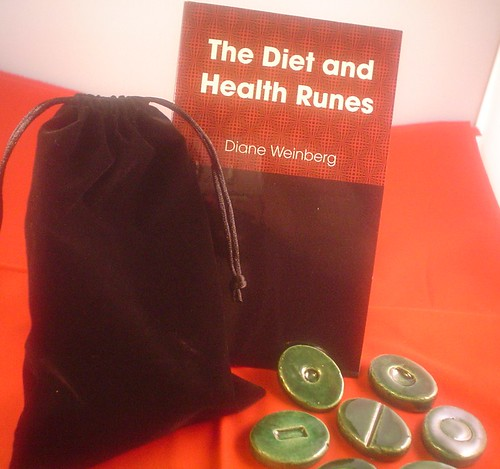 Diet and Health Ceramic Runes with Guide Booklet
