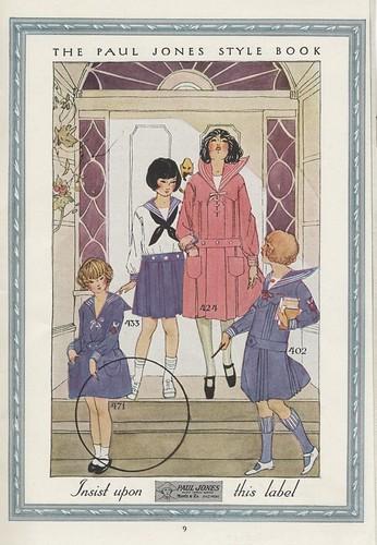 Morris & Company, Inc., Paul Jones Middy Garments, Baltimore, Maryland