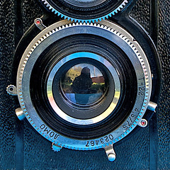 Lubitel Lens (heritagefutures) Tags: camera glass photography reflex focus russia union experiment ii soviet lubitel type through practice russian technique bakelite ussr viewfinder ttv bubbleglass 2lomo