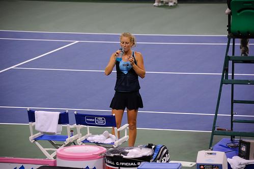 Urszula Radwanska - Radwanska at 2009 LA Women's Tennis Championships