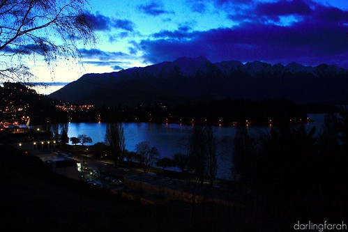 queenstown in the morning
