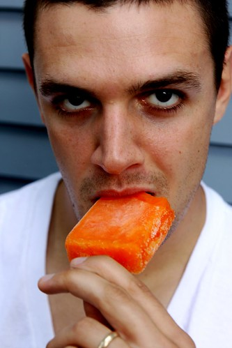 Pete, working that popsicle
