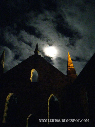 eerie haunted church