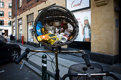 Rolling Bikes Gather No Trash