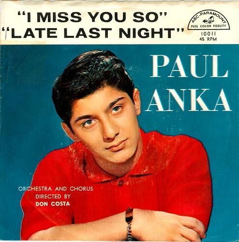 8 - Anka, Paul - I Miss You . US - 1959