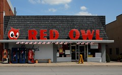 Brownlow's Red Owl, LeRoy, MN