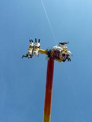 Fear at the fair... (Mirthe Duindam) Tags: delft lucht kermis mirthe duindam