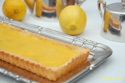 tarte  lemon curd olio EVO e rosmarino