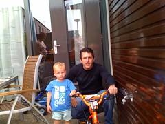 Steven en de fiets