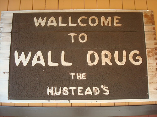 Welcome to Wall Drug (South Dakota)