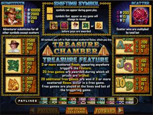 free Treasure Chamber slot mini symbol