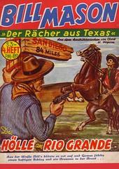 Bill Mason  04 (micky the pixel) Tags: vintage cowboy reiter pulp wegweiser pennydreadfuls billmason dimenovels groschenromane wildwestroman clarkwhoppson diehlleamriogrande