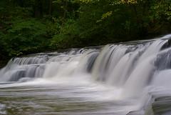 Postcard Falls In Corbett's Glen (+David+) Tags: waterfall lowangle corbettsglen allenscreek brightonny postcardfalls thereisnopanoramany 50mmlenschallenge