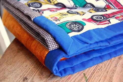 ian's first quilt